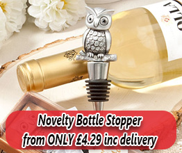 Novelty Wine Bottle Stoppers